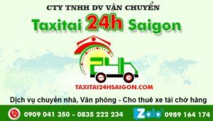 Chuyển Văn Phòng 24h Sài Gòn